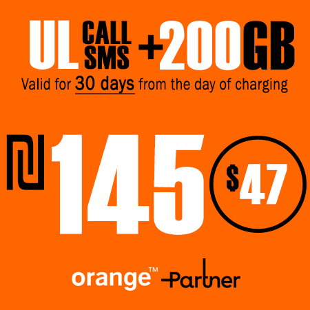 Partner Unlimited Calls and SMS + 200GB Data for 30 Days