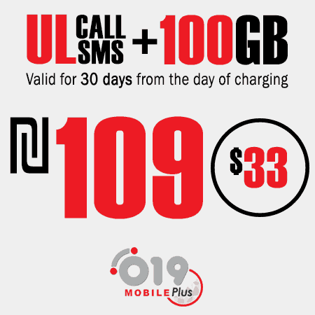 019 Mobile Unlimited calls and SMS + 100GB for 30 Days