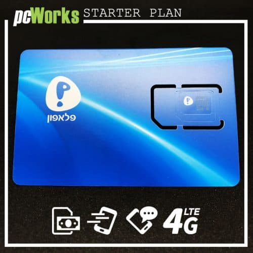 Prepaid Israeli SIM Card by Pelephone
